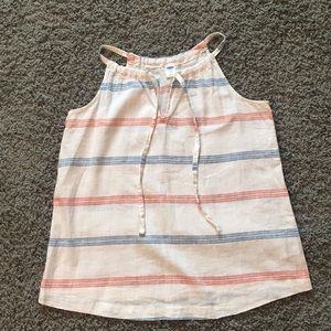 Stripped top. Xsmall